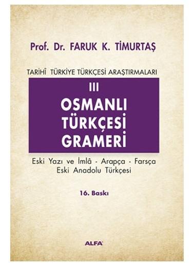 Alfa Osmanlı Türkçesi Grameri 3 Renkli
